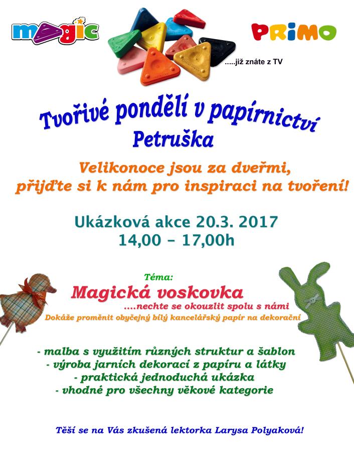Papírnictví Petruška akce